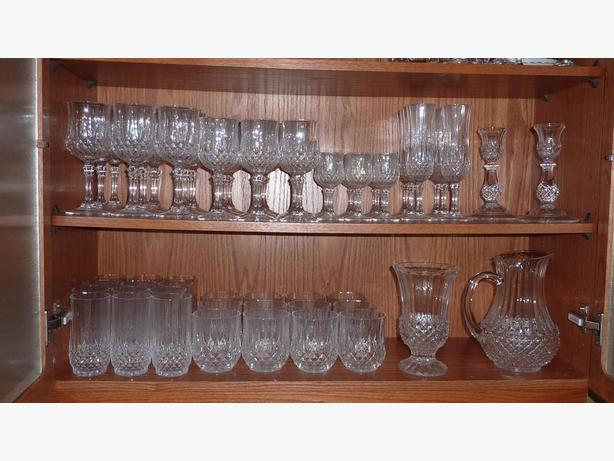 "Crystal ""Darques""  Stemware ""Longchamp"""
