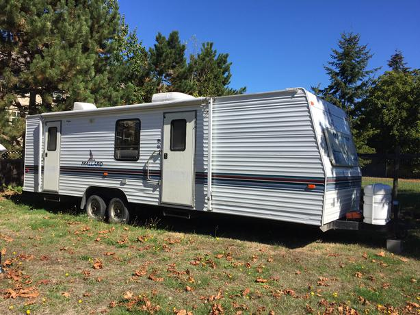 1997 Mallard By Fleet Wood 31t Travel Trailer Parksville Nanaimo