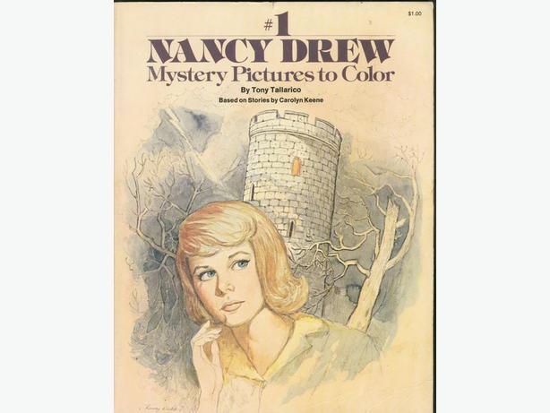 Nancy Drew Colouring Book 1977