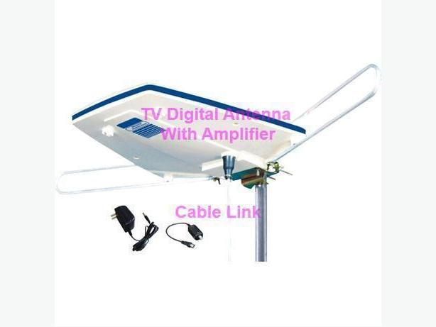 High performance TV Antenna With Built-in high Gain Pre-Amplifier