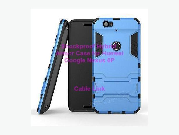 Shockproof Armor Kickstand Case for Huawei Google Nexus 6P