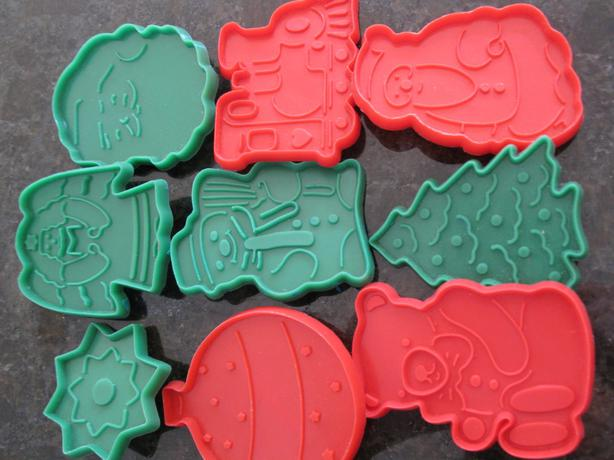 CHRISTMAS COOKIES CUTTERS SET