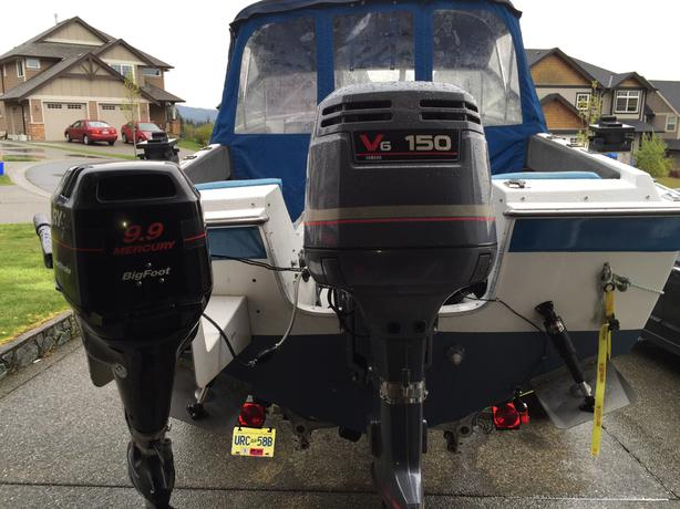 1998 yamaha 150 2 stroke sooke victoria for Yamaha 150 2 stroke fuel consumption