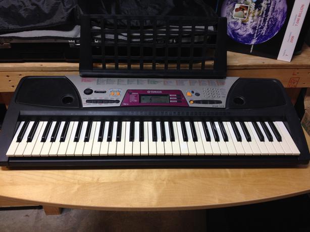 Yamaha psr 172 61 key keyboard west shore langford for Yamaha piano store winnipeg