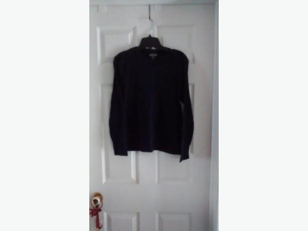 Ladies Black Northern Refections Long Sleeve Shirt - Medium