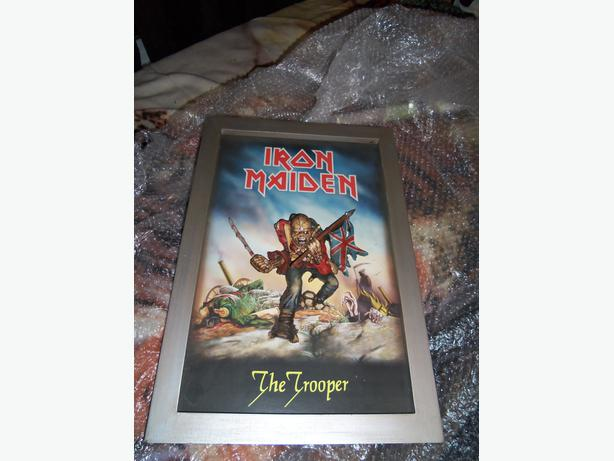 Iron Maiden The Trooper 3D Poster