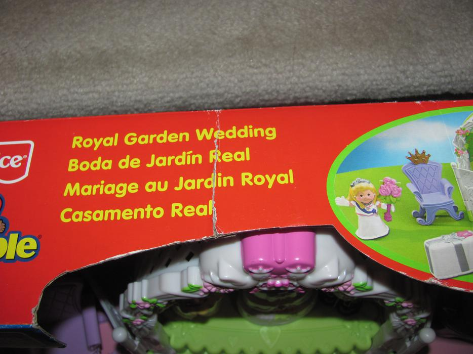 Fisher Price Royal Garden Wedding Set Little People New Orleans Ottawa
