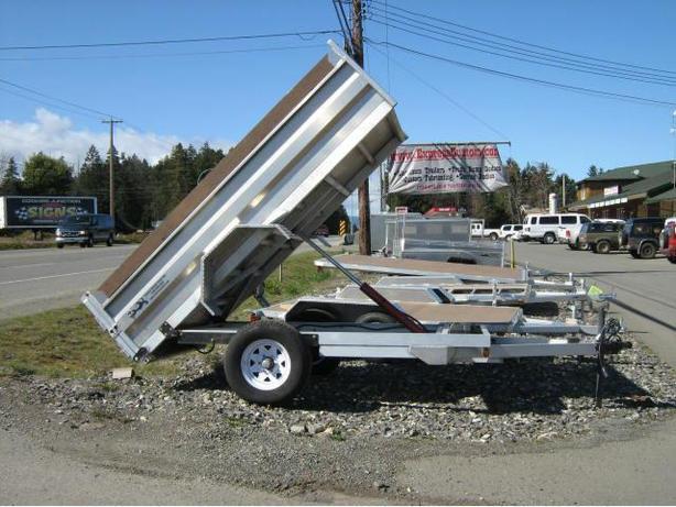 5x10 5200gvw Aluminum Dump Trailer