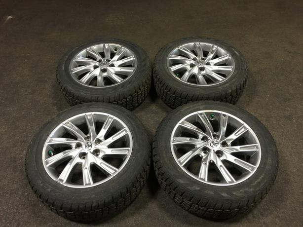 215/55R17 WINTER TIRES AVALANCHE & TOYOTA CAMRY OEM MAGS 2012+