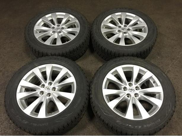 TOYOTA WHEELS MAGS & 245/55R19 WINTER TIRES TOYO OBSERVE GSi-5