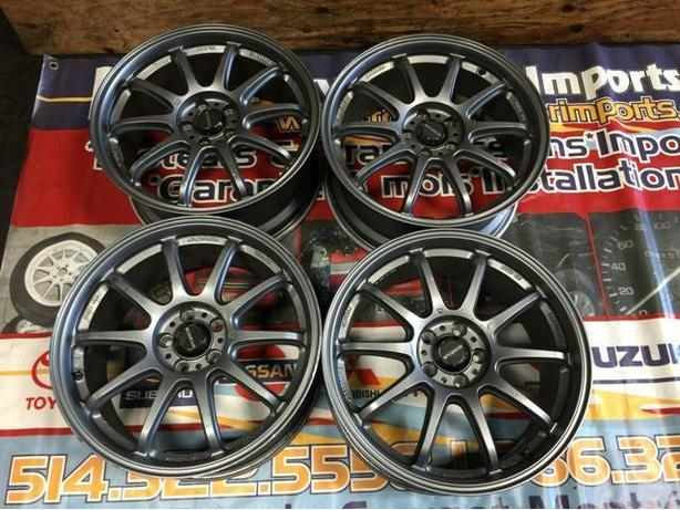 JDM PRODRIVE GC-010G FORGED MONOBLOCK WHEELS 17X8.0JJ 5X100 +43