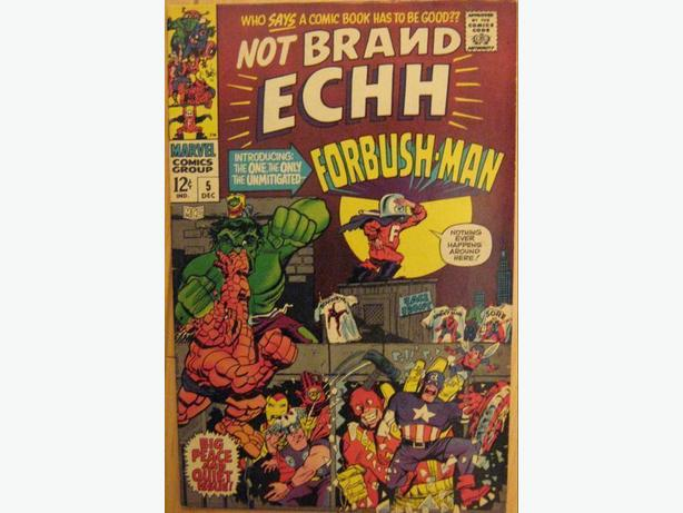 Not Brand ECHH #5 - Marvel Comics