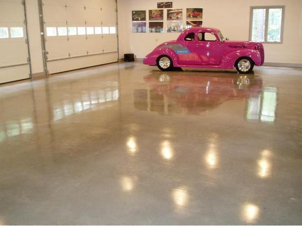 Polished concrete, Epoxy and Decorative concrete floors