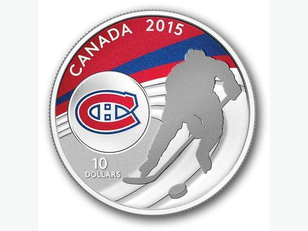 2015 NHL 1/2 oz. Fine Silver Coin - Montreal Canadiens
