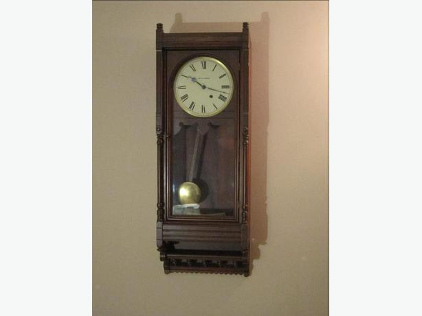 Nice Seth Thomas Queen Anne Wall Clock