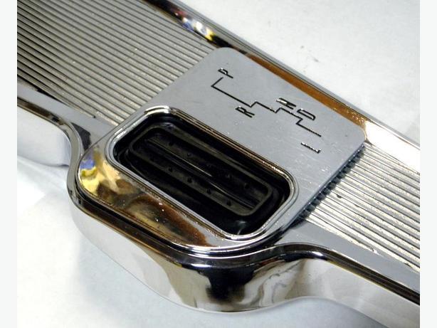 1962 63 64 65 Chevy II Nova SS Acadian SD Chrome Auto Floor Console