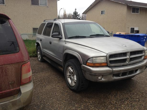 1998 dodge durango slt 4x4 for sell west regina regina. Black Bedroom Furniture Sets. Home Design Ideas