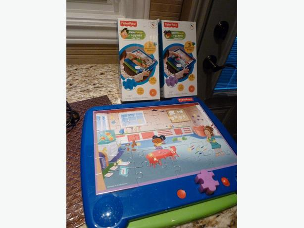 I-Jig Interactive Electronic Puzzle System