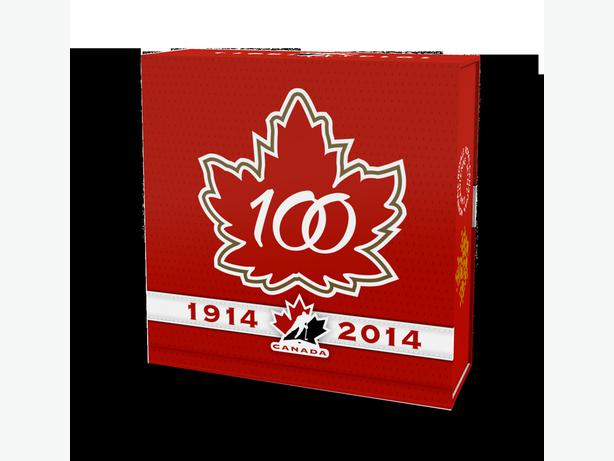 1 oz. Fine Silver Coin –100th Anniversary of Hockey Canada