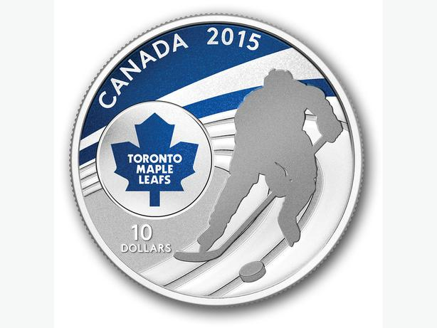 2015 NHL 1/2 oz. Fine Silver Coin - Toronto Maple Leafs®