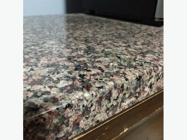 POLISHED  GRANITE BAR TOP/ HEARTH