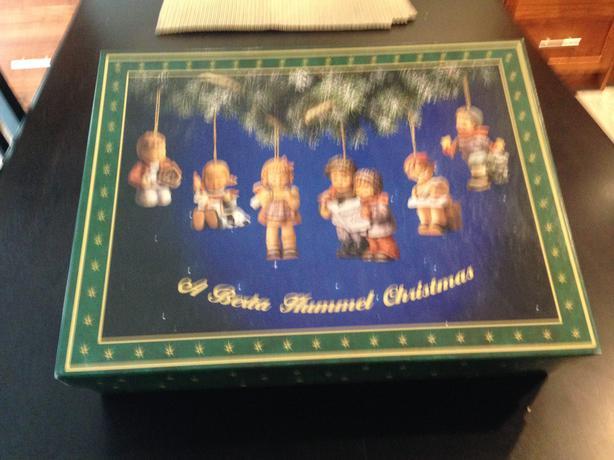 SET OF 97 BERTA HUMMEL CHRISTMAS ORNAMENTS