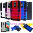 Hybrid Shockproof Rugged Armor Case for Samsung Galaxy S5
