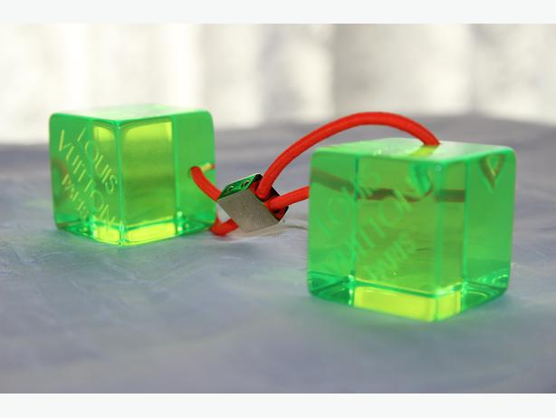 Authentic Louis Vuitton hair cubes: price down $59