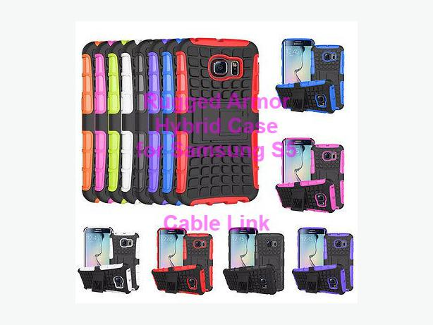 Rugged Armor Heavy Duty Case for Samsung Galaxy S5