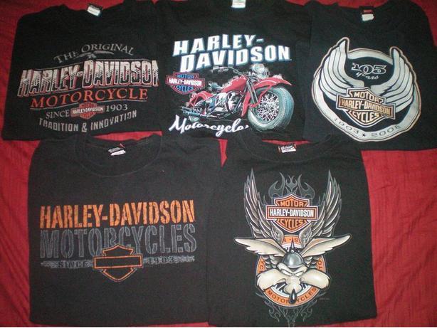 Mens XL Harley Davidons Tshirts