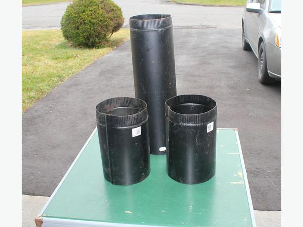 Three Pieces of Stove Pipe