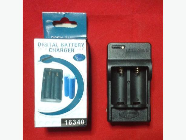 CR123A Battery Charger