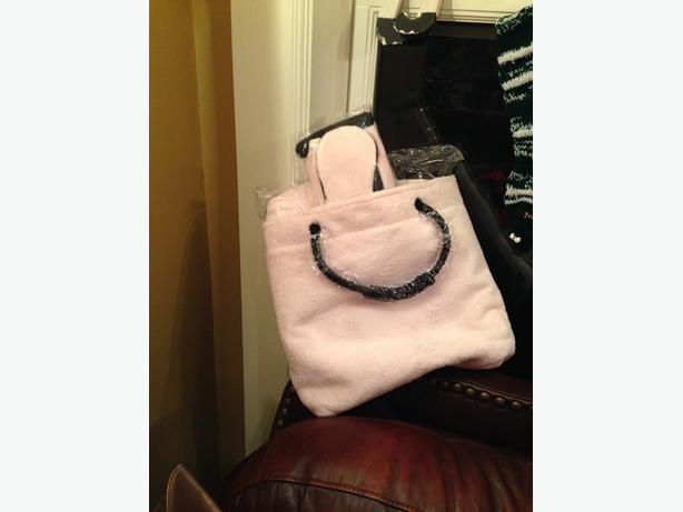 Pink Terry Cloth Travel Pack - NEW