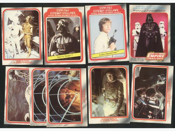 Cards Stickers 1980 O Pee Chee The Empire Strikes Back Carrie Fisher Leia