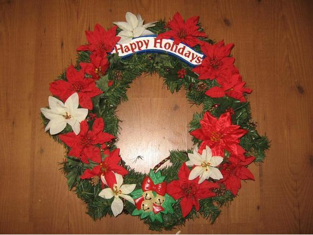 Brand New Large Christmas Wreath