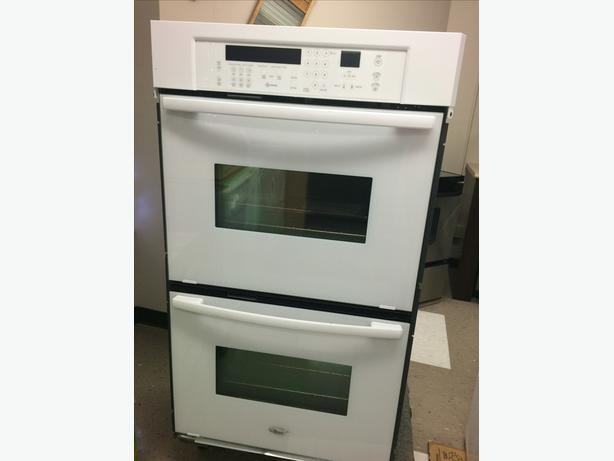 Whirlpool Double Wall Oven, White