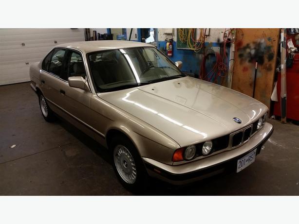 1991 BMW 524 Td (turbo diesel)