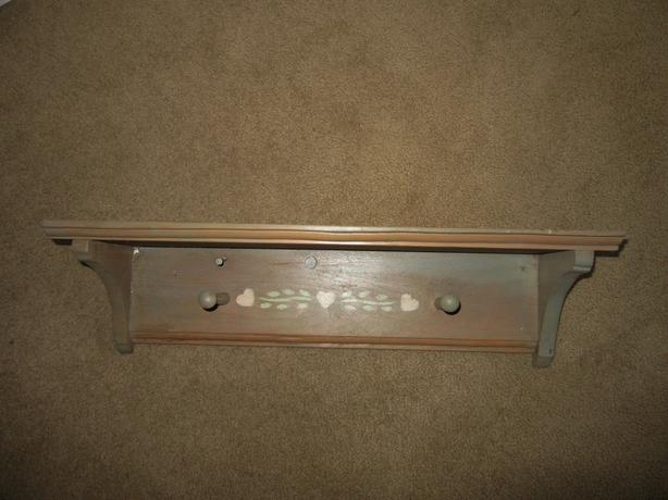 "Pine decorative shelf ""distressed"" look 24 inches long"