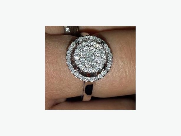 LOST DIAMOND CLUSTER RING - $100 REWARD