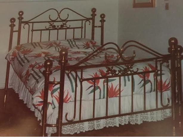 Double Post Brass Bed