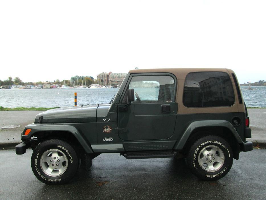2002 Jeep Wrangler Tj Sahara Edition 4x4 On Sale No