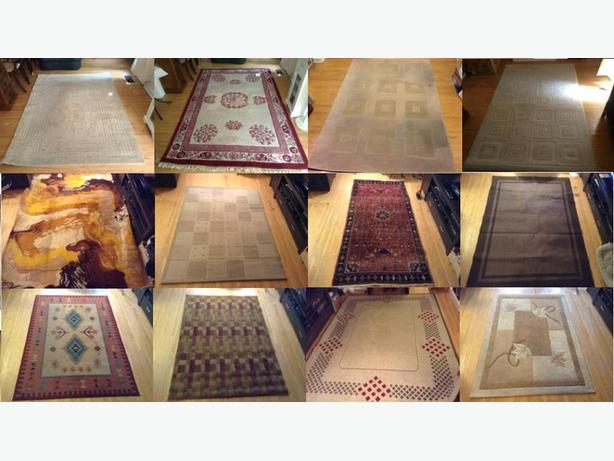 Collection of USED carpets (Need Cleaning)