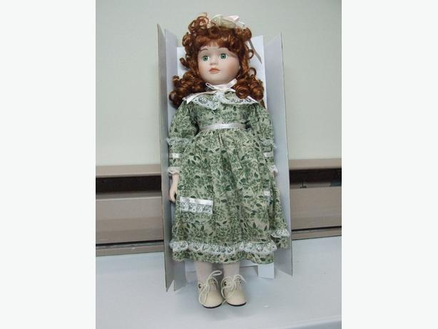 Stephanie Hand painted Porcelain Doll