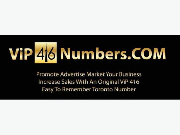 ViP 416 NUMBERS FOR SALE TRUSTED! Promote Advertise Business