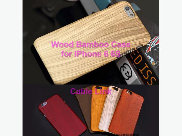 Retro Wood Style Wooden Bamboo Case for IPhone 6 6S