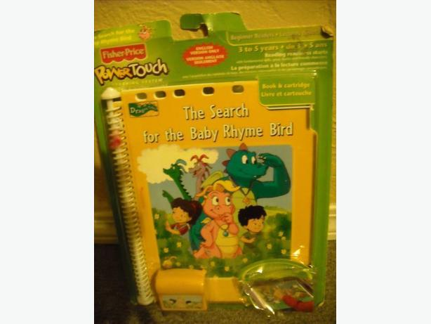 New Fisher Price Power Touch Book And Cartridge