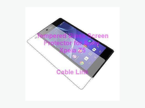 2.5D 9H Tempered Glass Front Screen Protector For Sony Xperia Z5