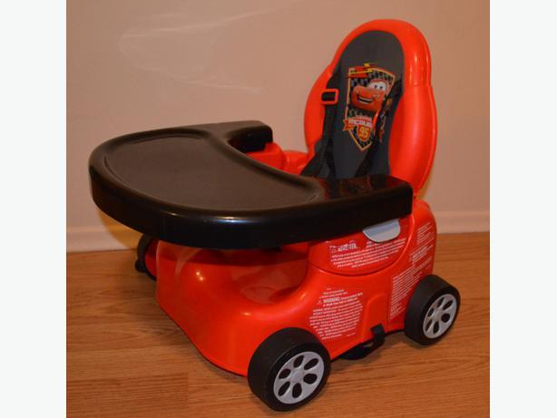 Lightning McQueen Booster Seat