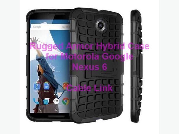 Heavy duty Rugged Armor Hybrid Case for Motorola Google Nexus 6