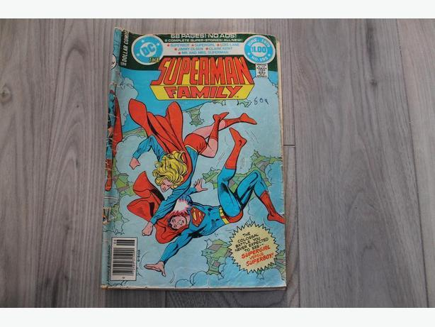 Superman family--DC comic book